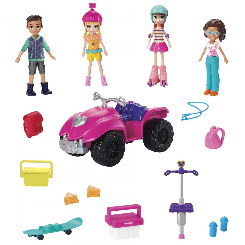 Polly Pocket Diversão Com Os Amigos GNH09 Mattel