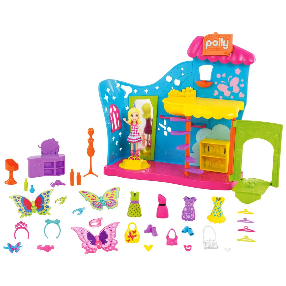 Polly Pocket Fantasias De Borboleta DVJ75 Mattel