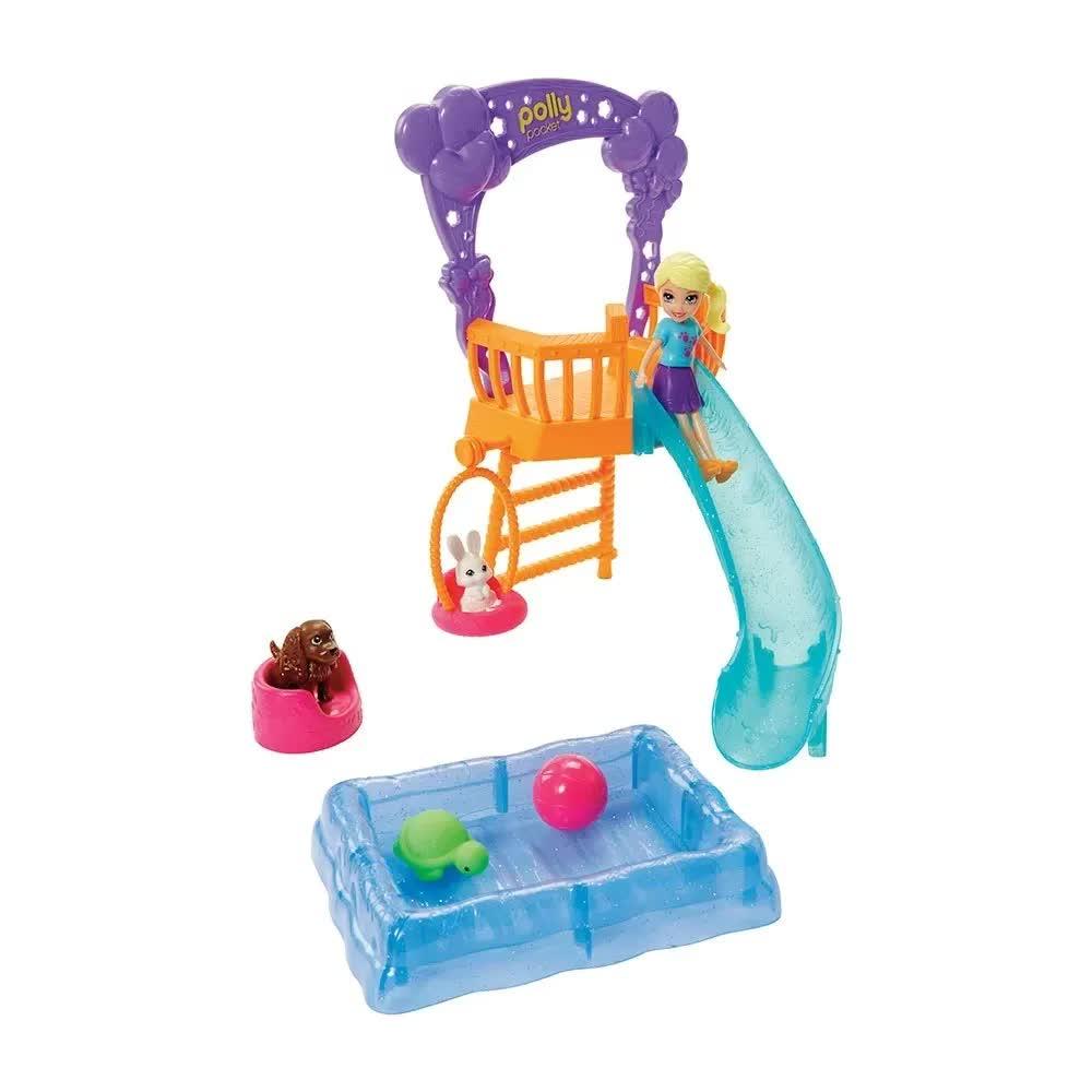 Polly Pocket Festa No Jardim Com Bichinhos FPH97 Mattel