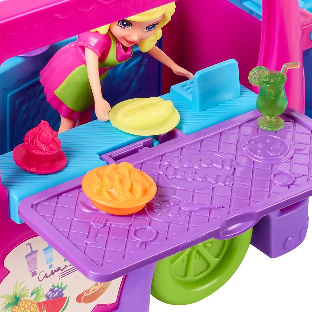 Polly Pocket Food Truck Divertido FPH98 Mattel