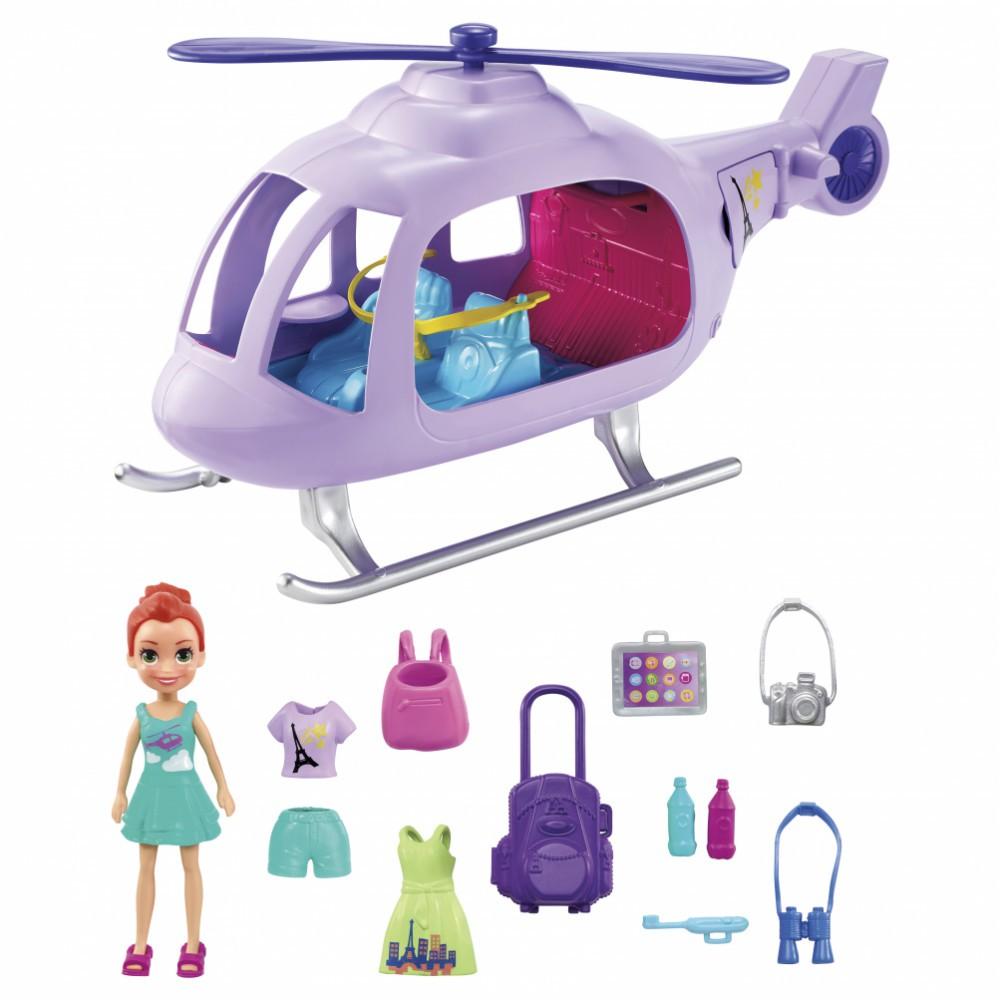 Polly Pocket Helicóptero Da Polly GKL59 Mattel