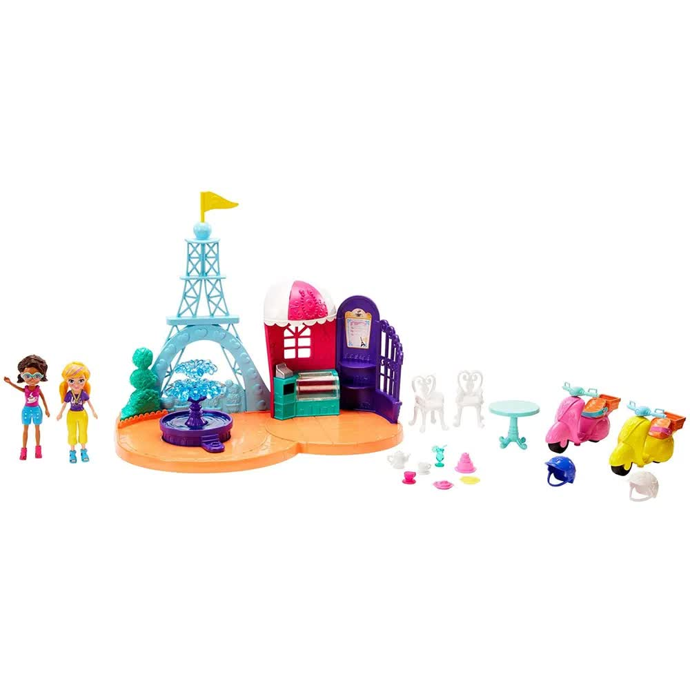 Polly Pocket Perfeitamente Paris GKL61 Mattel