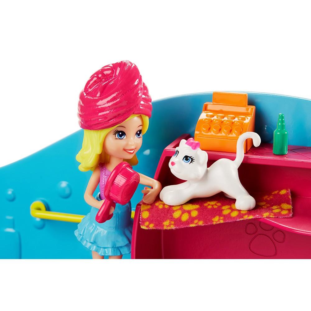 Polly Pocket Salão De Beleza Dos Bichinhos FPH96 Mattel