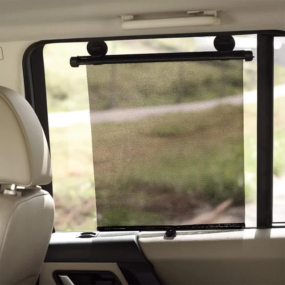 Protetor Solar Retrátil Para Carro BB075 Multilaser