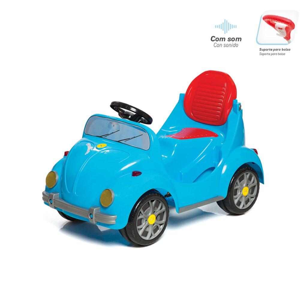 Quadriciclo 1300 Fouks Passeio E Pedal Azul 0998 Calesita