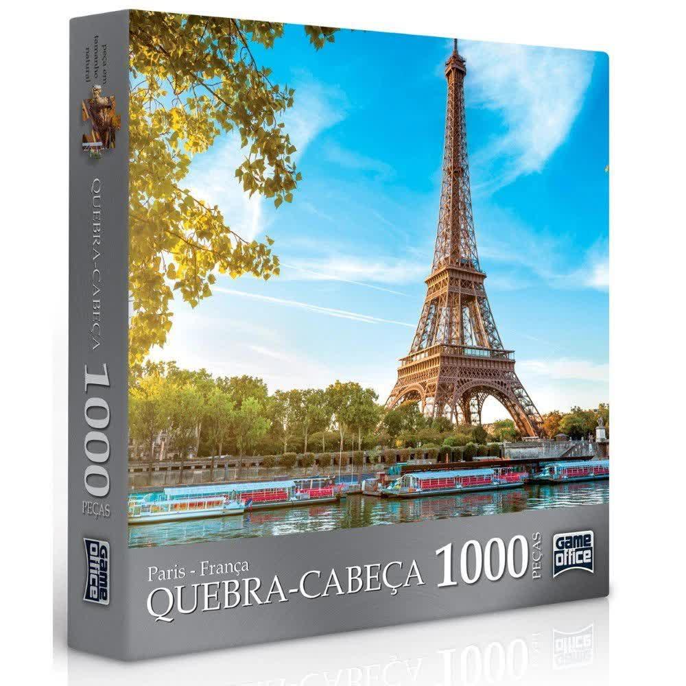 Quebra-Cabeça 1000 Peças Paris E Roma 2091 Toyster