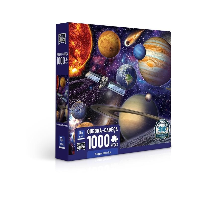 Quebra-Cabeça 1000 Peças Viagem Cósmica 2722 Toyster