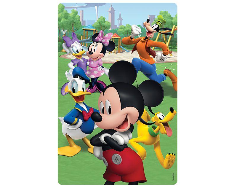 Quebra-Cabeça 100 Peças Encapado Mickey 2585 Toyster