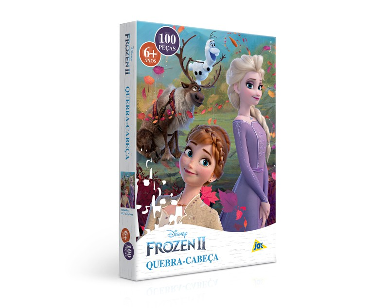 Quebra-Cabeça 100 Peças Frozen 2 2654 Toyster