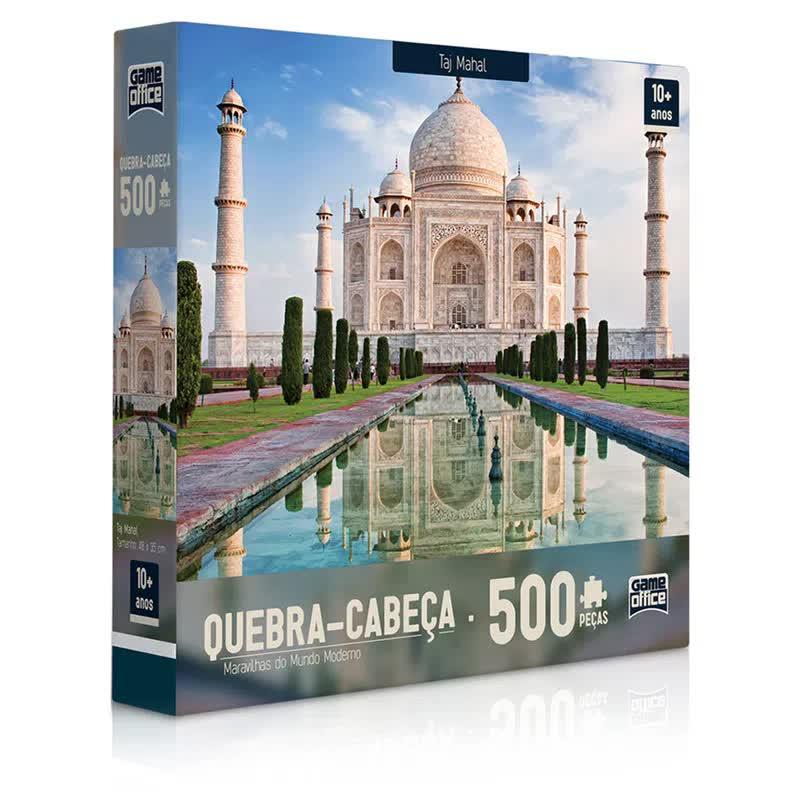 Quebra-Cabeça 500 Peças Maravilhas Do Mundo Moderno 2306 Toyster