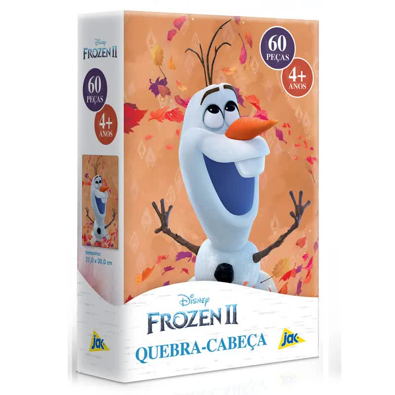 Quebra-Cabeça 60 Peças Frozen 2 2671 Toyster