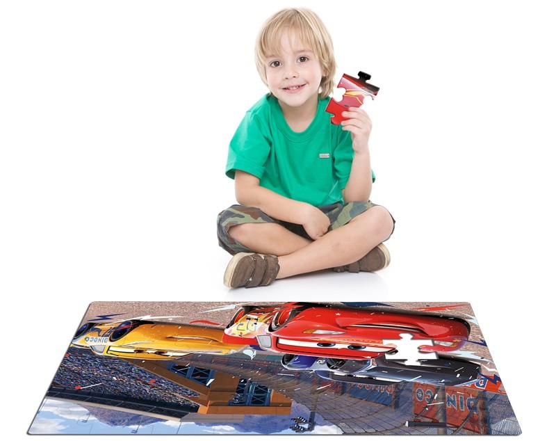 Quebra-Cabeça Grandão 48 Peças Carros 2555 Toyster