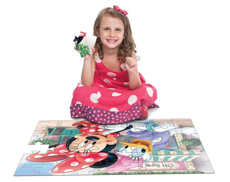 Quebra-Cabeça Grandão 48 Peças Minnie 2206 Toyster