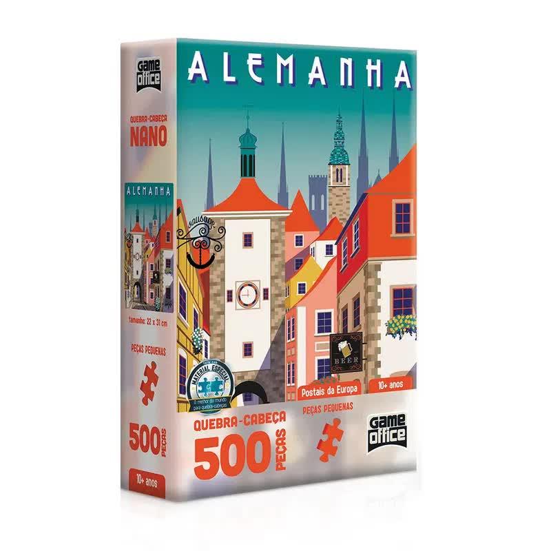 Quebra-Cabeça Nano 500 Peças Postais Da Europa 2616 Toyster