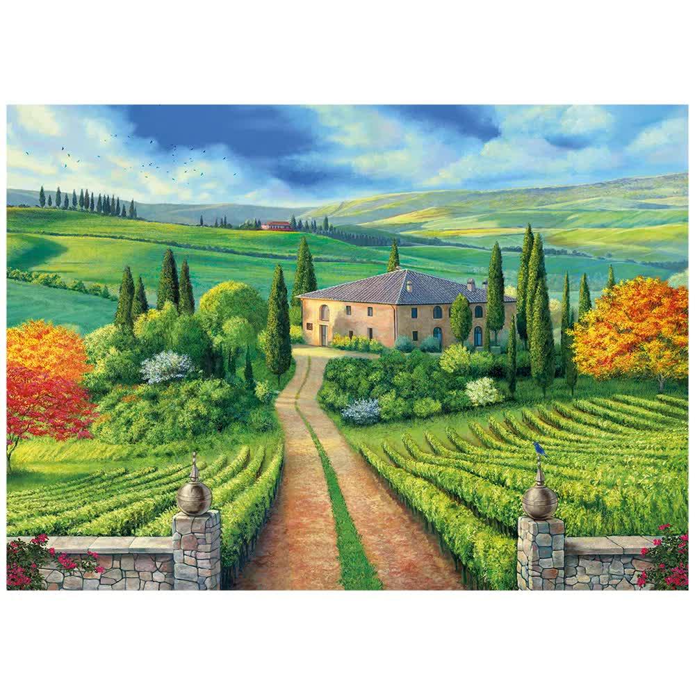 Quebra-Cabeça Puzzle 1000 Peças Toscana 03921 Grow