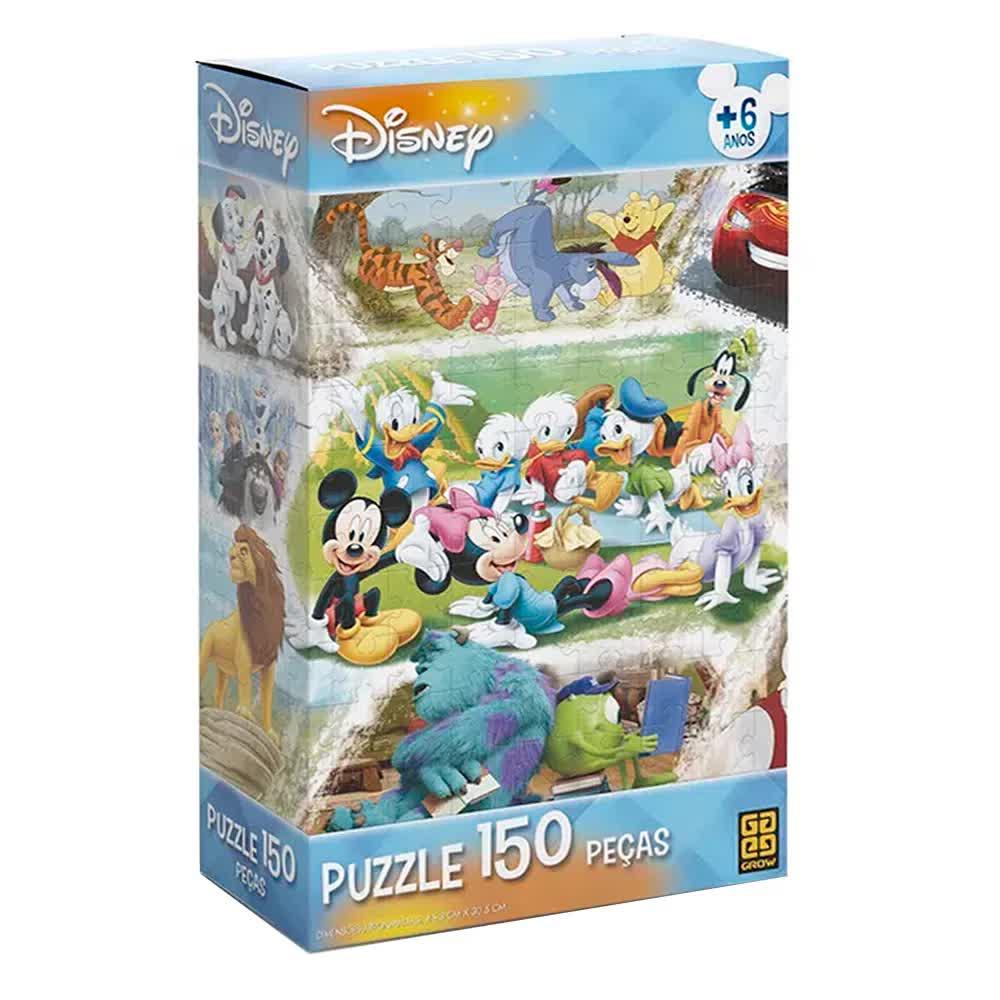 Quebra-Cabeça Puzzle 150 Peças Disney 02448 Grow