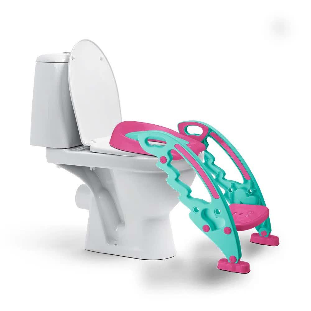 Redutor de Assento Com Escada Step Potty BB052 Multilaser