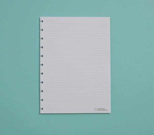 Refil Pautado Grande 90g Caderno Inteligente