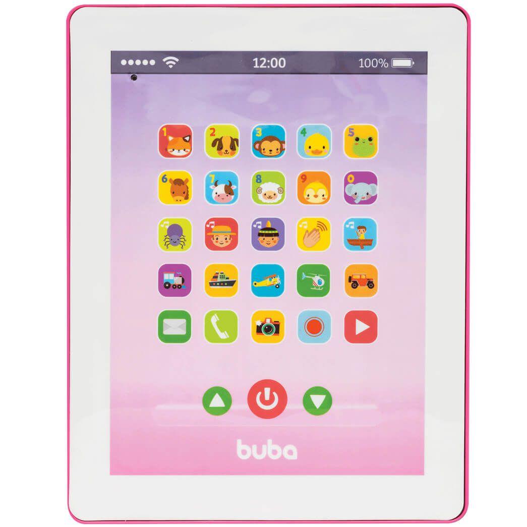 Tablet Infantil Rosa Buba