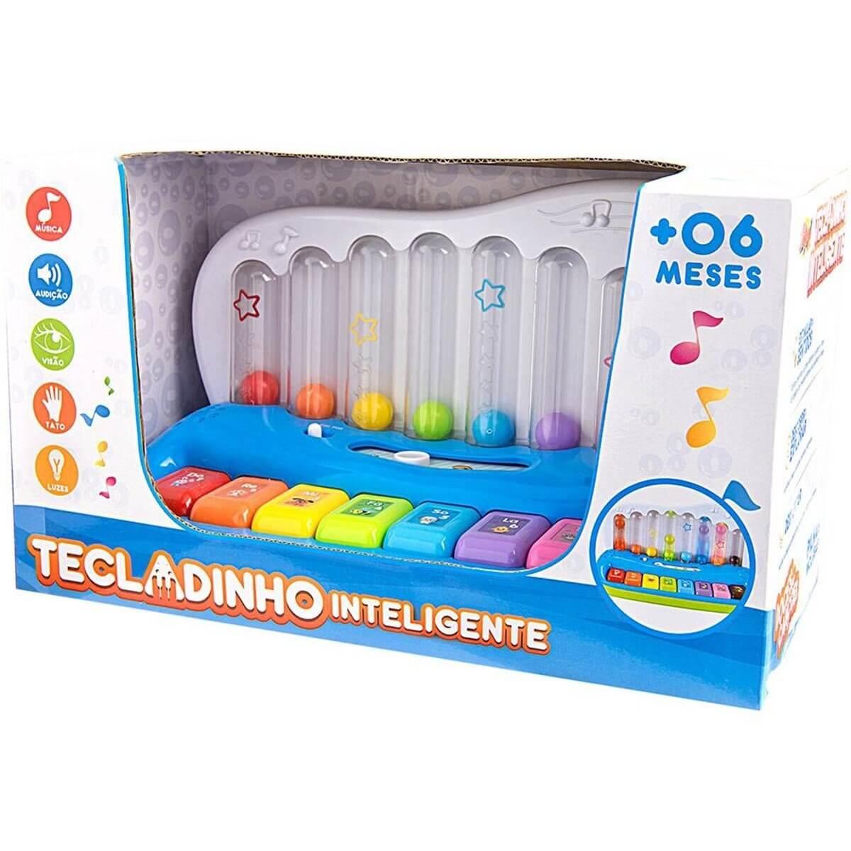 Tecladinho Inteligente Infantil ZP00059 Zoop Toys