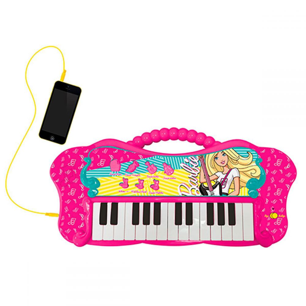 Teclado Infantil Fabuloso Barbie 80071 Fun