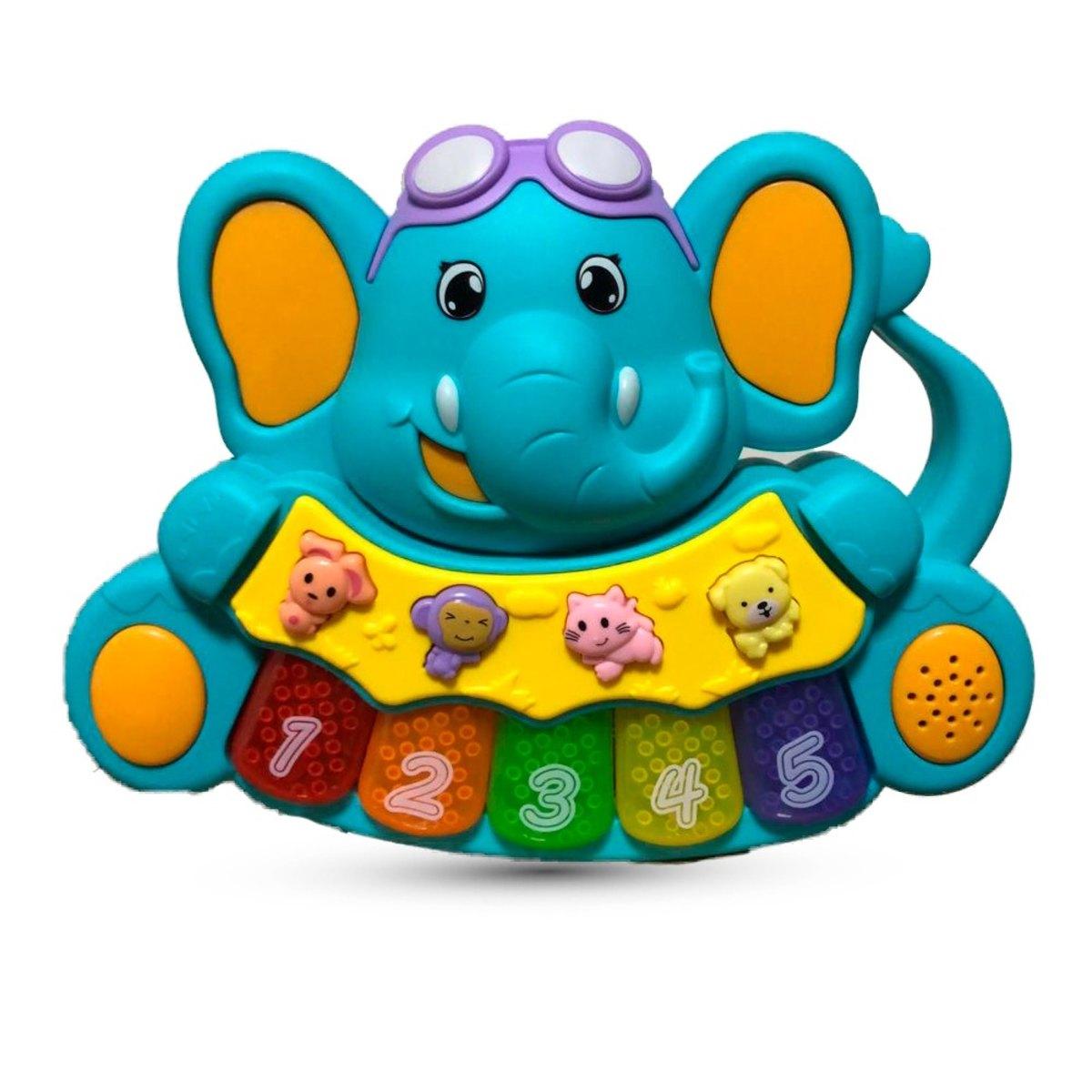 Teclado Música Animal ZP00312 Zoop Toys