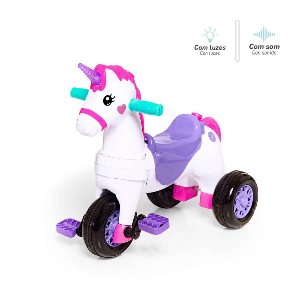 Triciclo Calesita Fantasy Rosa 1001 Calesita