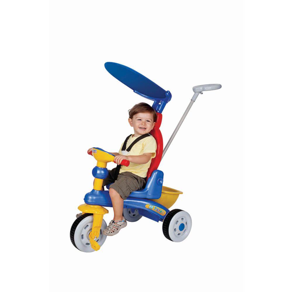 Triciclo Fit Trike Azul 3338 Magic Toys