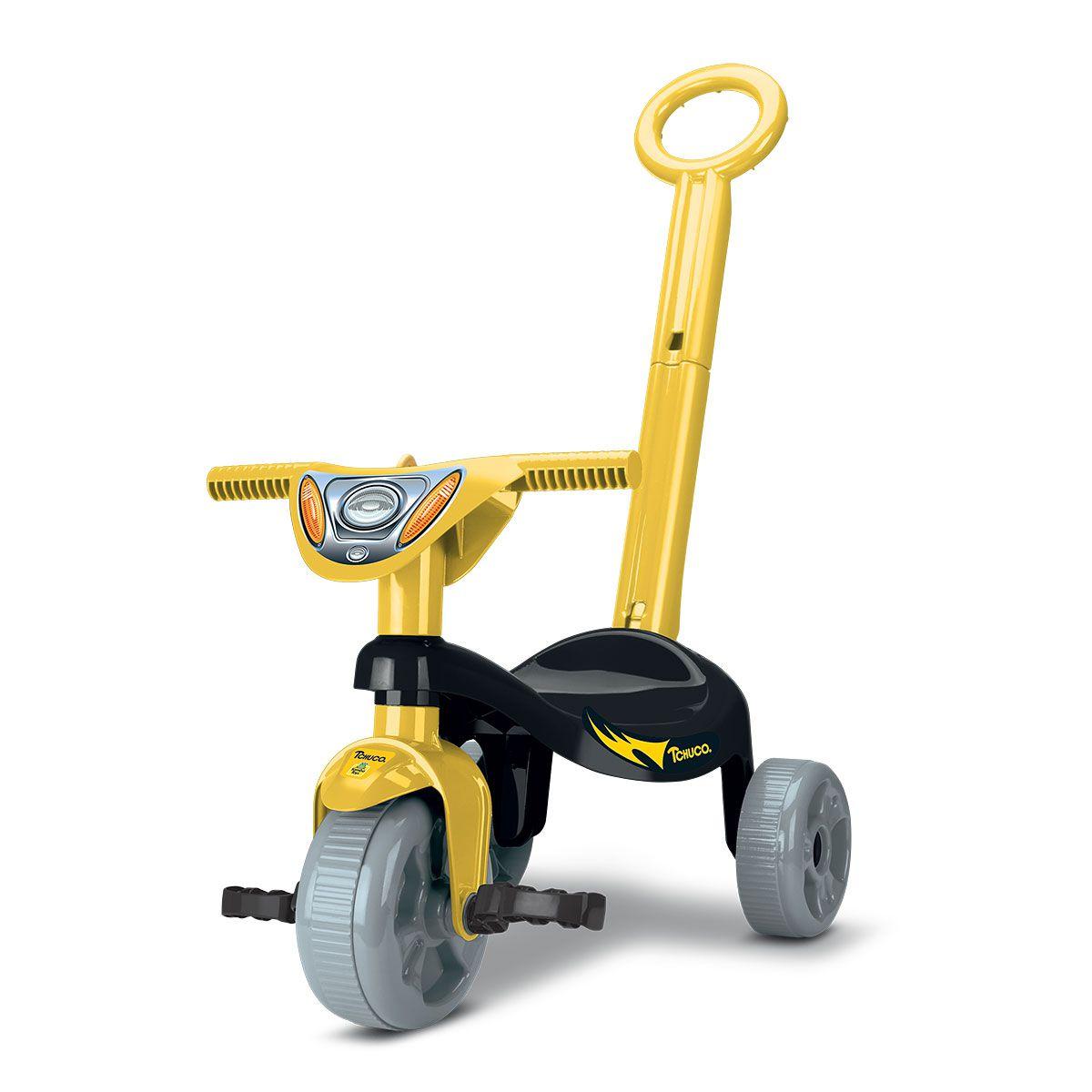 Triciclo Tchuco Heróis Morceguinho Com Haste 0603 Samba Toys