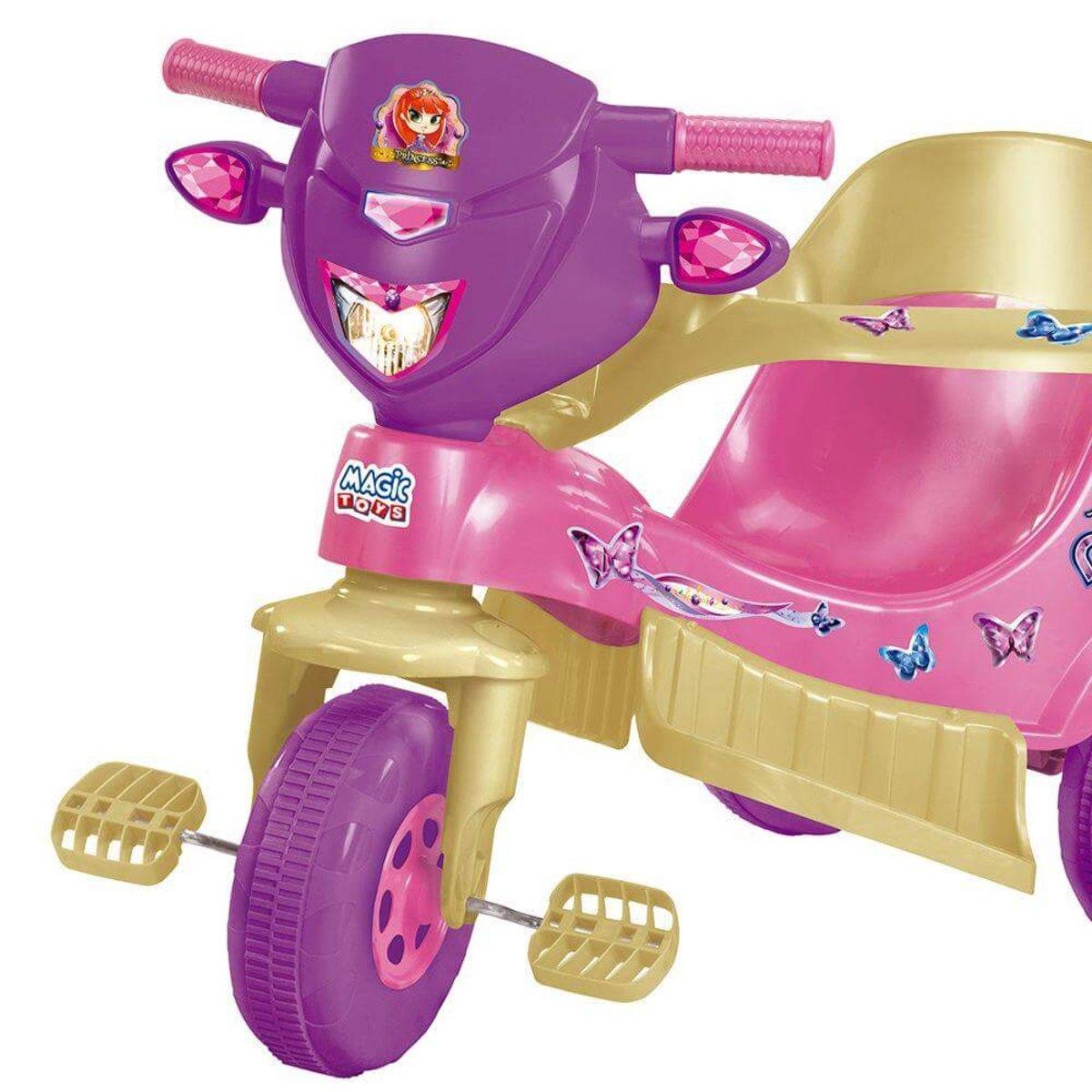 Triciclo Tico Tico Velo Toys Princess Meg 3726C Magic Toys