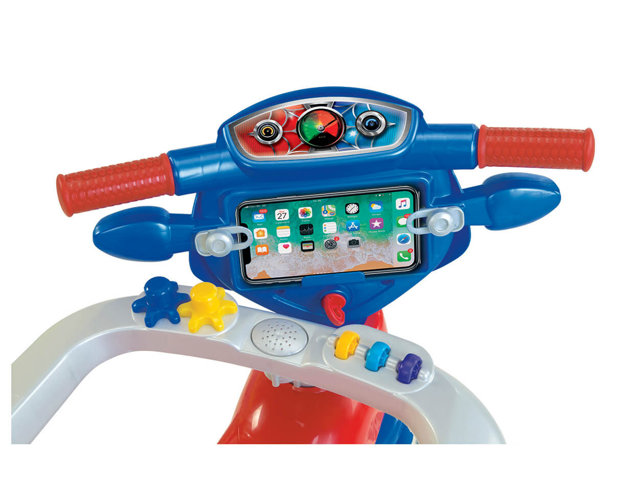Triciclo Tico Tico Velo Toys Vermelho 3721C Magic Toys