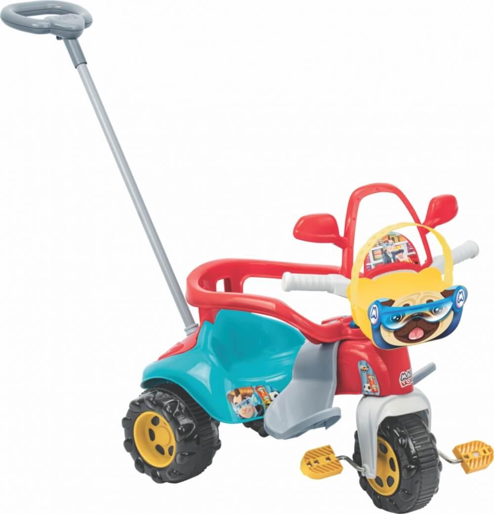 Triciclo Tico Tico Zoom Max Com Aro 2710L Magic Toys