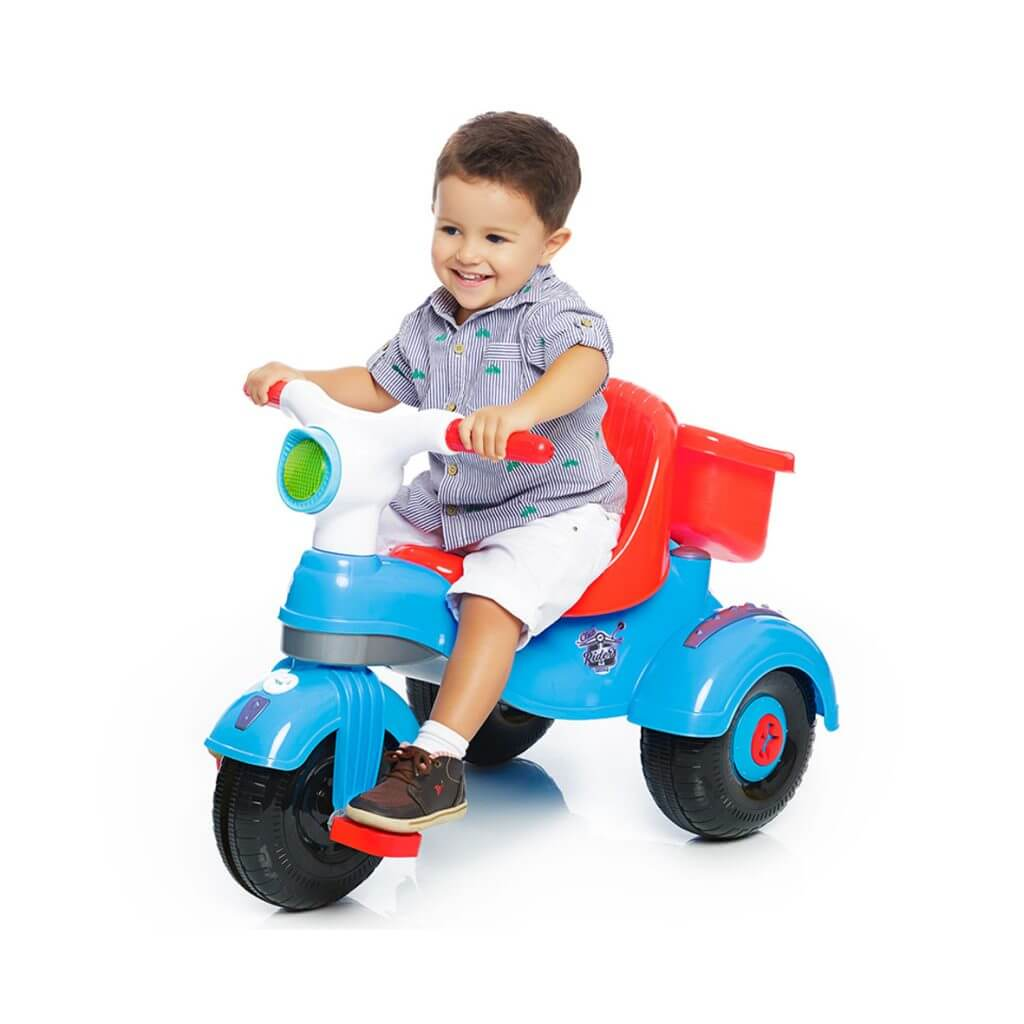 Triciclo Velocita Classic Azul 0993 Calesita