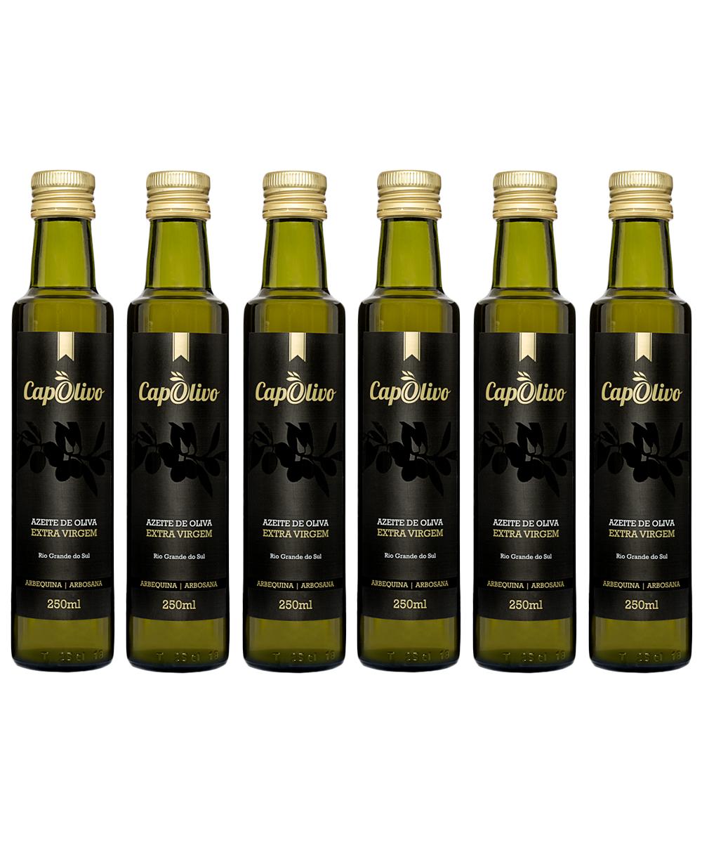 Caixa 6 unidades Azeite de Oliva ARBEQUINA/ARBOSANA 250ml