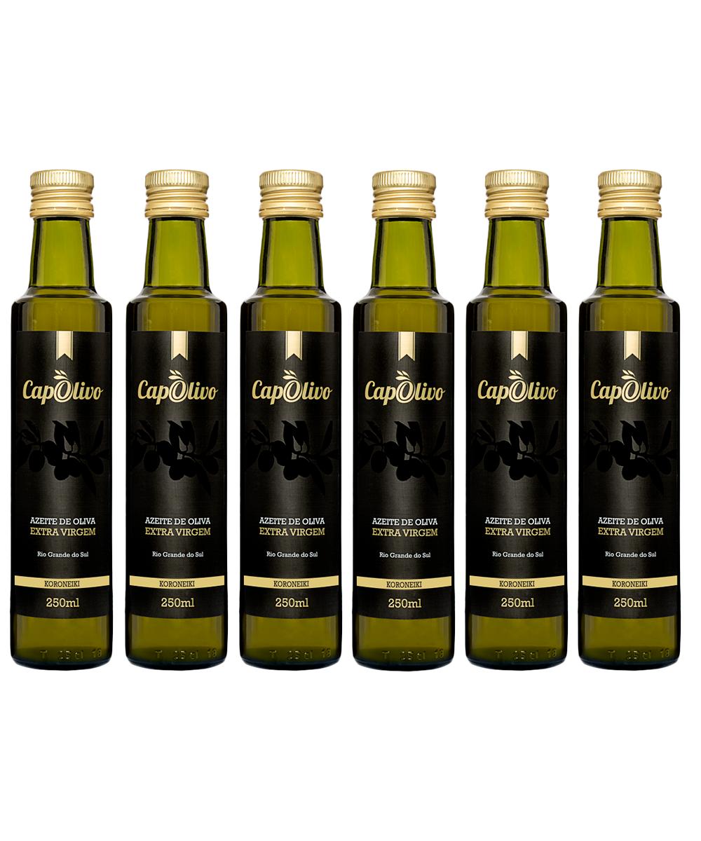 Caixa 6 unidades Azeite de Oliva KORONEIKI 250ml