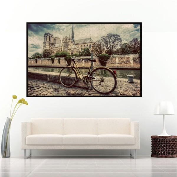 Quadro Fotografia Bicycle