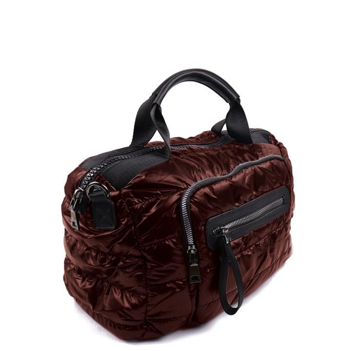 Bolsa com alça lateral removível café
