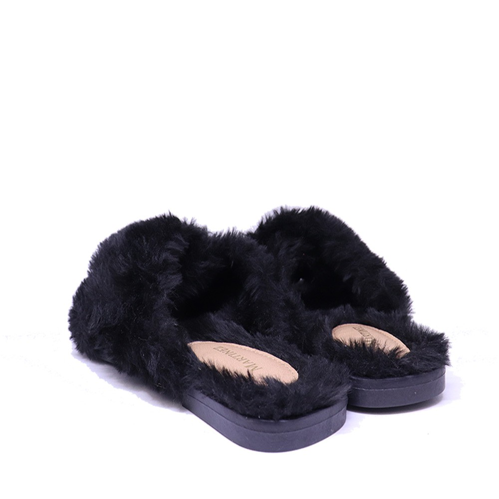 Chinelo Martinez Home Wear pelo preto