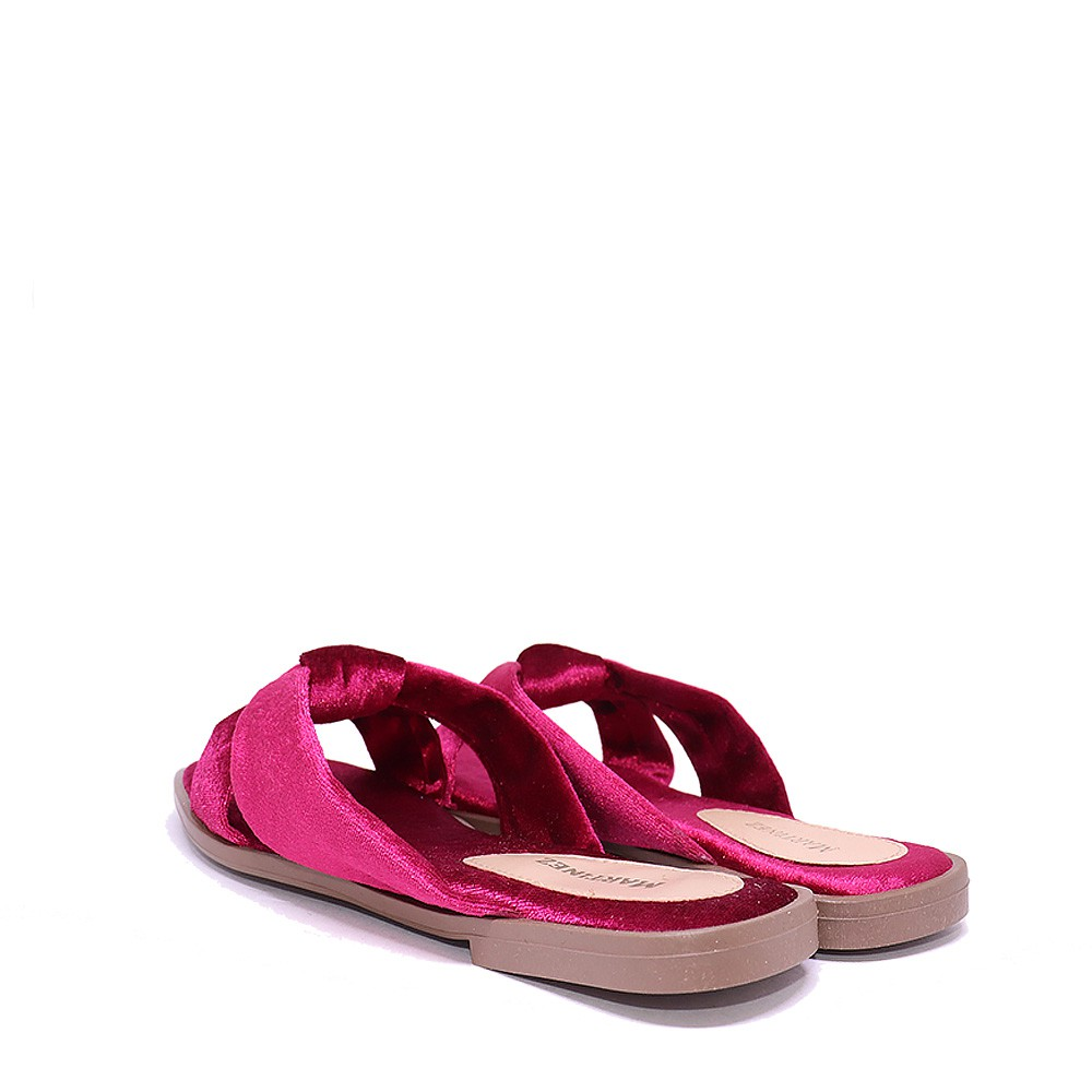 Chinelo Martinez Home Wear veludo violeta