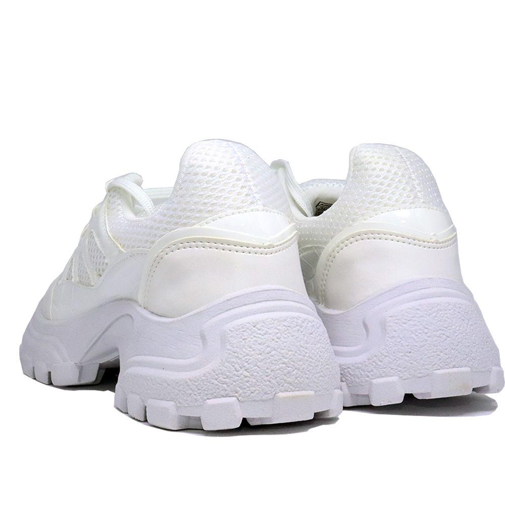Tênis Sneaker chunky branco