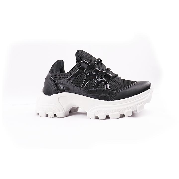 Tênis Sneaker chunky preto