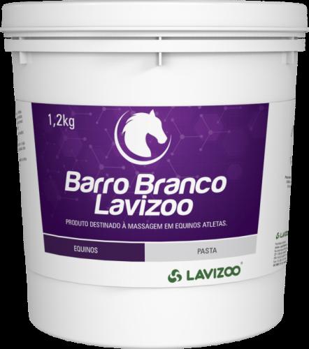 BARRO BRANCO LAVIZOO 1,2KG
