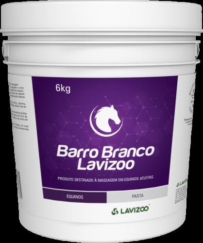 BARRO BRANCO LAVIZOO 6KG