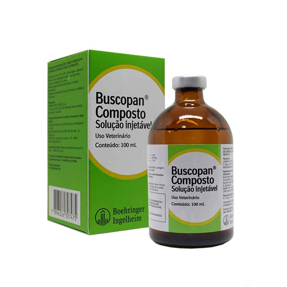 BUSCOPAN COMPOSTO INJ. 100ML