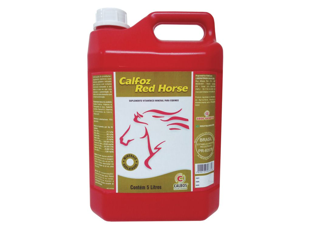 CALFOZ RED HORSE 5L