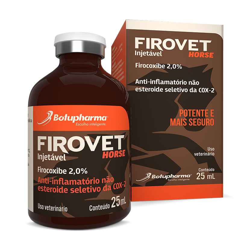 FIROVET HORSE INJETAVEL 25ML