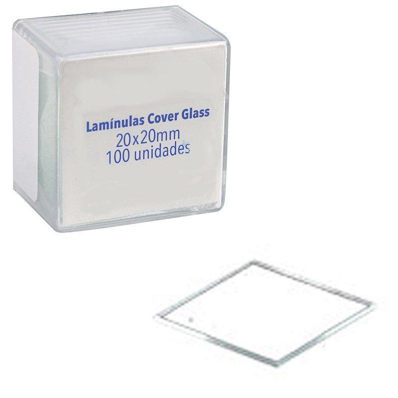 LAMINULA MICROSCOPIA 20X20 C/100