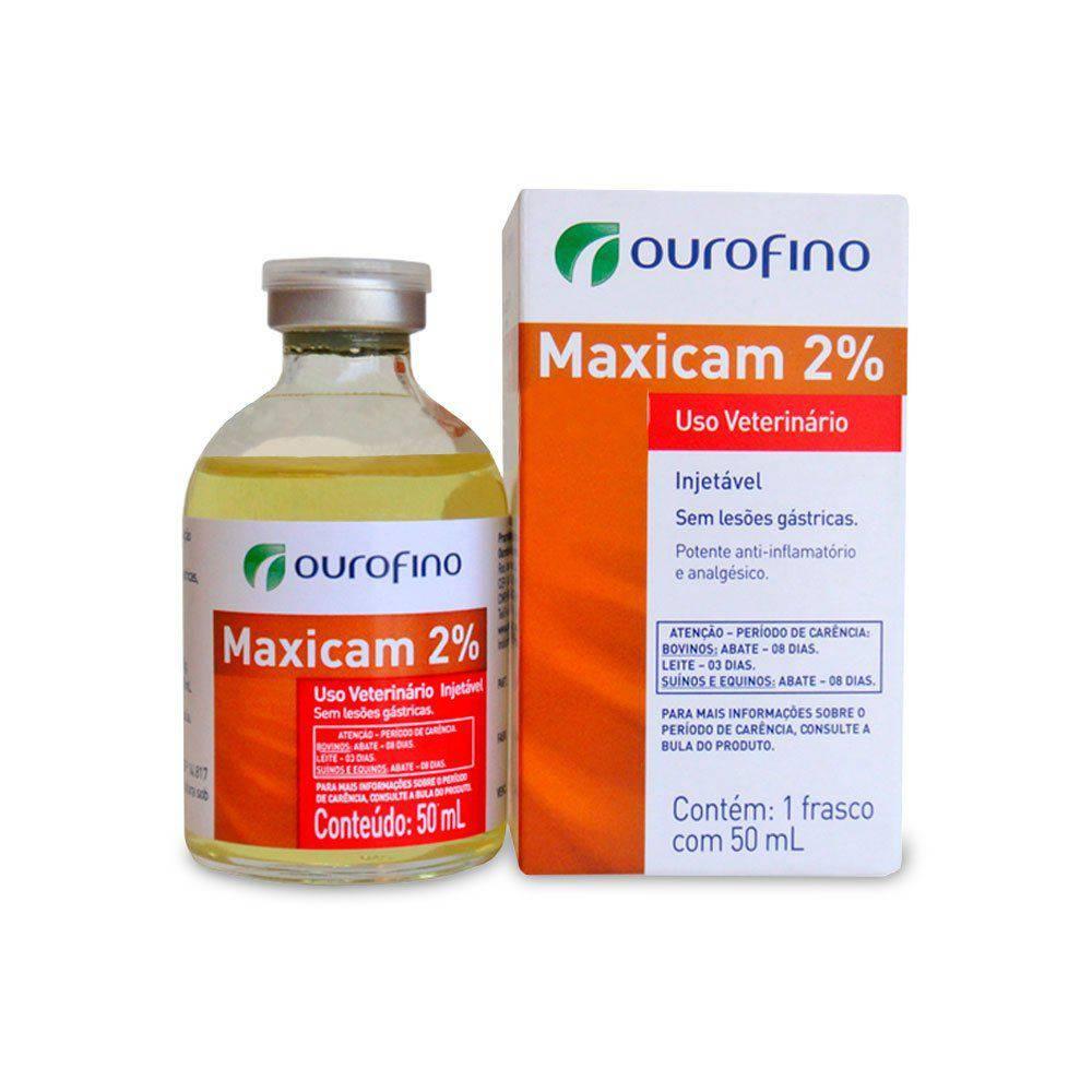 MAXICAN 2% INJ. 50 ML