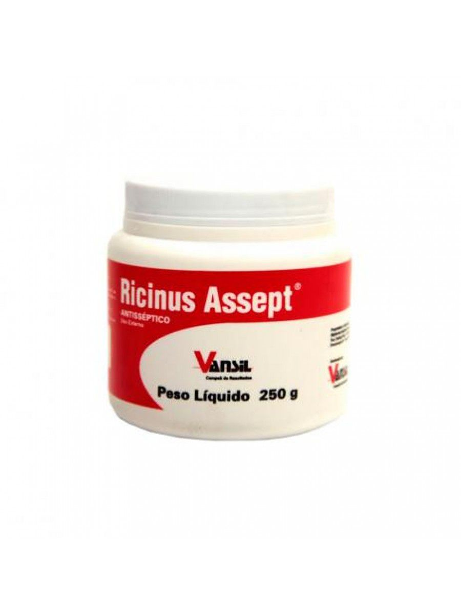 RICINUS ASSEPT PASTA 250 GR