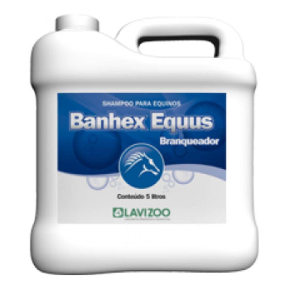 SHAMPOO BANHEX EQUUS BRANQUEADOR 5LT